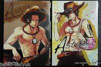 JAPAN One Piece manga: Ace Anthology A Style vol.1~2 Complete set