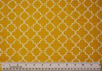 1/2 yard 100% cotton fabric Tonal Lattice Golden Yellow Springs sewing quilting
