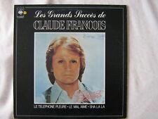 CLAUDE FRANCOIS 33 TOURS CANADA LES GRANDS SUCCES DE CF