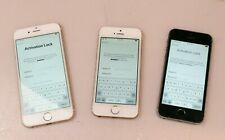 Lot of Three Apple  iPhone Two A1533 One A1549 These Phones are Locked EL679.H