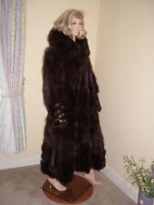 Fox Fur Full Length Coats & Jackets for Women
