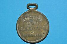 Badge 1910's Souvenir of the Carnival New Orleans READ DESCRIPTION