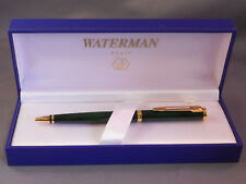 Waterman green lacquer ball pen ---new old stock