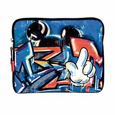 Official Disney Mickey Mouse Blue Tablet Sleeve Carry Case Padded Bag