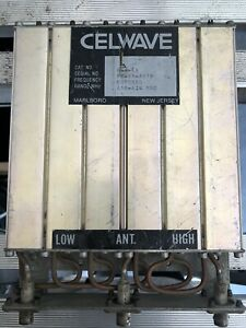 Celwave Duplexer #633-6A 450-470 Mhz  tuned on unknown frequency.