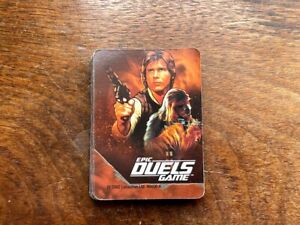Star Wars Epic Duels Game Replacement Cards Hano Solo Chewbacca Complete Set 31
