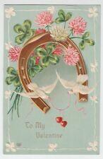 "[67319] 1909 Postcard ""To My Valentine"""