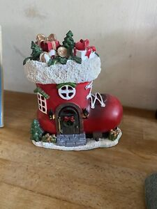 Latex Mould for making this Lovely Santa Boot House
