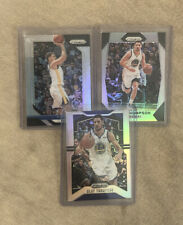2X Klay Thompson 2019 Panini Prizm Silver Lot #209