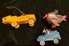 Hallmark pedal Kiddie car Ornaments