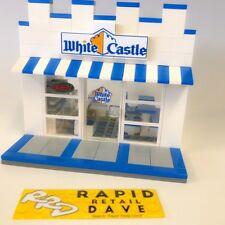 Lego City Custom White Castle Restaurant Very Detailed For Boys & Girls Gift NEW