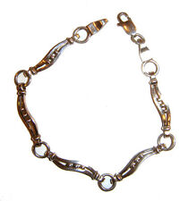Bracelet Handcrafted from Mexico Taxco .925 Sterling Silver Link