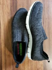 Sketchers Air Cooled Slip On Sneakers Black Size 11 Shoes Memory Foam Fast Ship