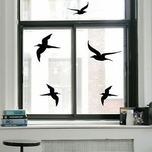 Wandtattoo Aufkleber Deko Fenster Vogelschutz Vögel