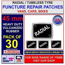 Neumáticos radiales de reparación de pinchazos Parche - 30 X 45 Mm Parches