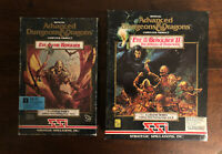EXC! Eye Of The Beholder Vol 1 & 2!! Adv Dungeons & Dragons PC Games 1990, 1991