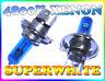Paire 55W H4 55/60W 4800K Ampoule Phare Xénon Super Blanc Lampe pour Mazda