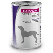 Eukanuba Veterinary Dermatosis FP Adult Dog Food Tins (Pack of 8 tins)