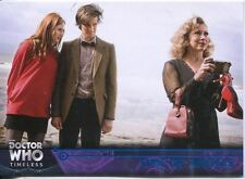 Doctor Who Timeless Blue Parallel [##/99] Base Card #72 Time of Angels