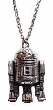 "Star Wars R2-D2 Character 3D 1 1/2"" Pewter Finish Metal Pendant"