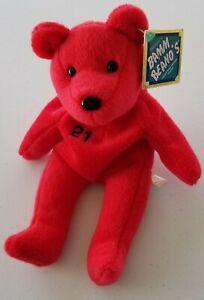 Bamm Beano's Sammy Sosa #21.  9 inch Red Bear. Issue date: Aug 1998.