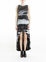 BNWT Religion Dynamic Maxi Dress in Black Ink