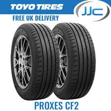 2 x Toyo Proxes CF2 205/55/16 91V TL Road Car Tyres (2055516)