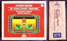 Haydn 19 tempesta & entrò Symphonies 6cd Trevor Pinnock sinfonie Farewell Mercury