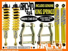ISUZU DMAX MODELS 2012-ON ARCHM4X4 / COIL SPRING 2INCH 50mm SUSPENSION LIFT KIT