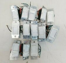 Lot of 13 Leviton Slide-to-Off Simmers Various Models (lot#5)
