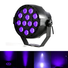 12 Leds UV Black Par Light DMX Led Stage Light Sound Party DJ Club Lighting US