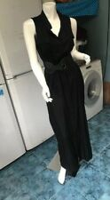 South Collared Maxi Button Down Dress With Belt UK12