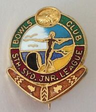 South Sydney Junior League Bowling Club Badge Pin Rugby Football Club (M12)