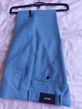 yDKNY Mens formal trousers 32R New with tags. Blue