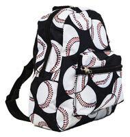 Kids Toddler Baseball Backpack Mini Small Preschool Bag Purse Sports