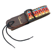 Fender Artisan Leather Strap Gitarrengurt 2,5 Zoll schwarz