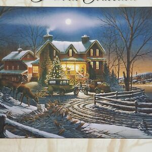 Vtg Roseart Puzzle And Crown Thy Good With Brotherhood 750 Pieces New Christmas
