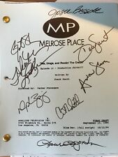 HEATHER LOCKLEAR SIGNED AUTOGRAPH MELROSE PLACE FULL SCRIPT