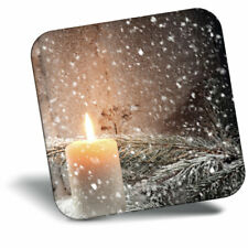 Awesome Fridge Magnet - Vintage Christmas Window Candle Cool Gift #14862