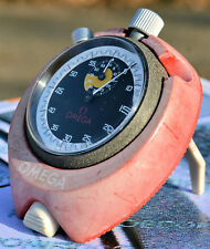 VERY RARE STOPWATCH OMEGA version match period with door crono table