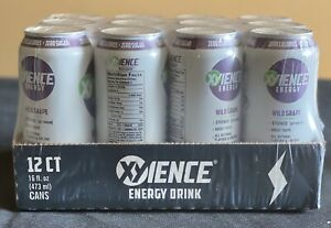 XYIENCE Energy: Wild Grape 12 Pack 16oz Cans.