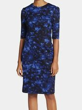 NWT MSRP $138 - BETSEY JOHNSON Women's Floral Sheath Dress, Royal, Size 6