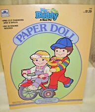 My Buddy Paper Doll Book 1986