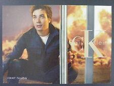 Jimmy Fallon Calvin Klein Fashion CK Promotional Promo Advertising Postcard