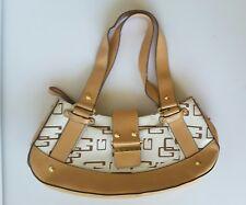 Guess women's logo world handbag satchel multicolor