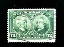 1927 Canada Stamp 147! 12c Laurier & McDonald!