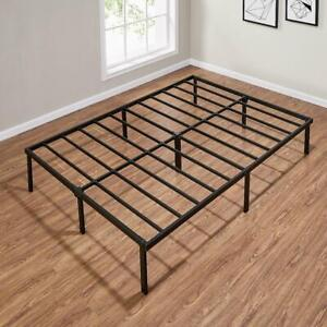 Twin, King, Queen, Full Size Metal Slat Bed Frame Platform Steel Bedroom NEW
