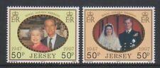 Jersey - 1997, Golden Wedding set - MNH - SG 840/1