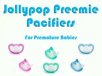 5-pack GumDrop Pacifiers Preemie Size Made In USA Individually Packaged