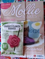 March Craft Magazines in English Mollie Makes